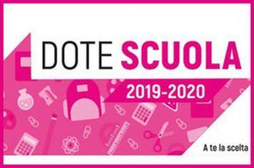 DOTE SCUOLA 2019-2020
