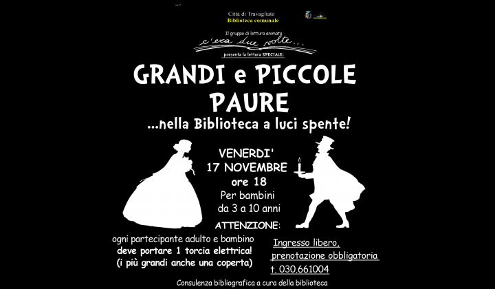 GRANDI E PICCOLA PAURE