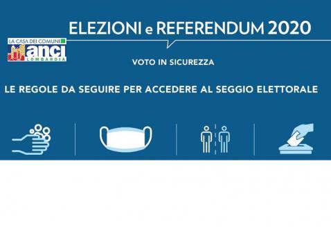 Elezioni Comunali e Referendum 2020 - Regole per Accedere ai Seggi