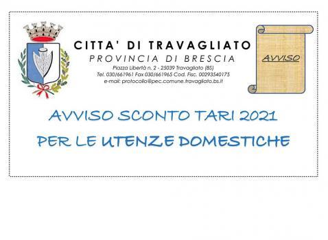Avviso TARI 2021 Utenze Domestiche